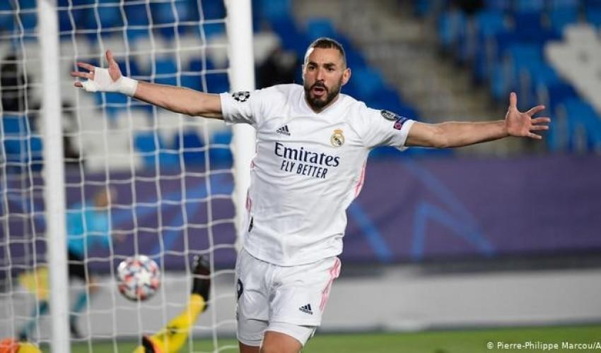 بلمسة ساحرة .. بنزيمة يقود ريال مدريد إلى صدارة الدوري الإسباني بعد فوزه على برشلونة في كلاسيكو الأرض ..!!